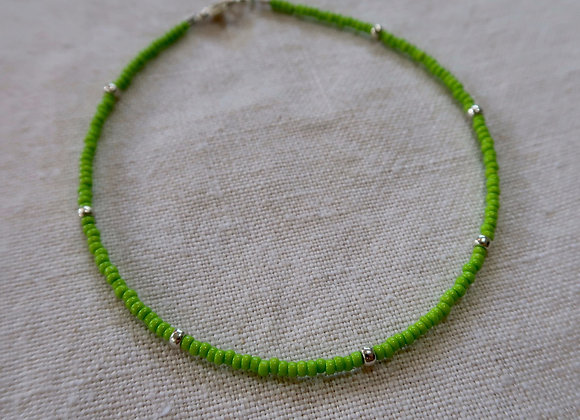 Lime Green - Sterling Silver