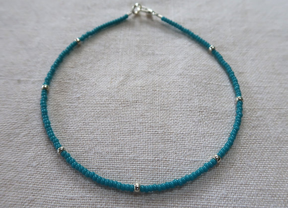 Bright Turquoise - Sterling Silver