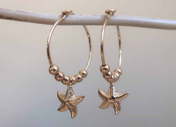 Gold Filled Starfish