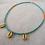 Thumbnail: Gold Shells - Turquoise & Orange