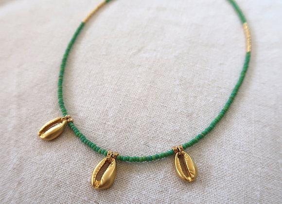 Gold Shells - Green
