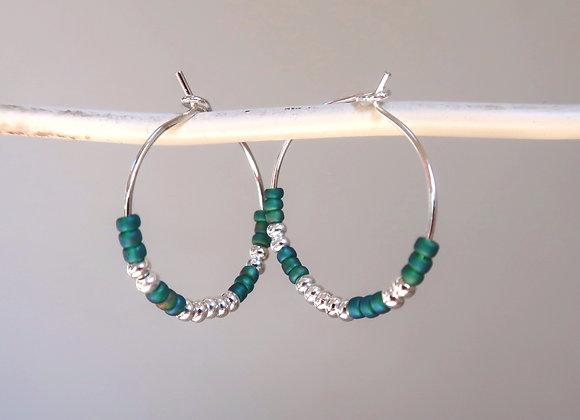 Silver & Emerald