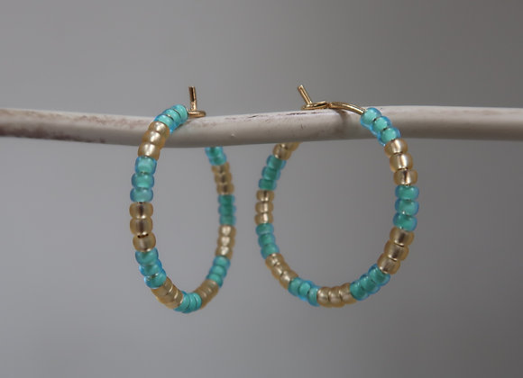 Gold & Turquoise (Small)
