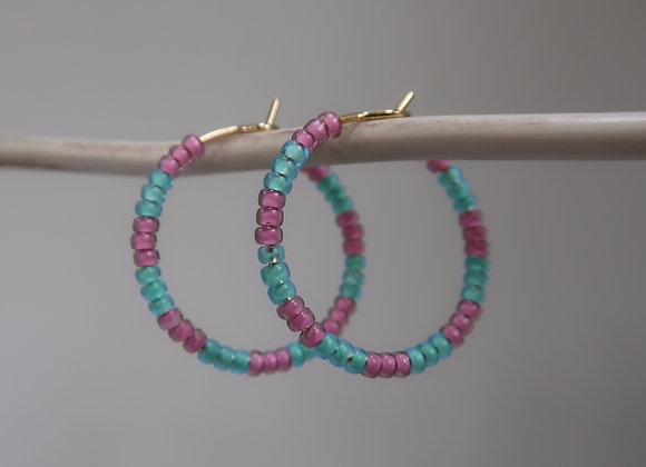 Pink & Turquoise (Small)