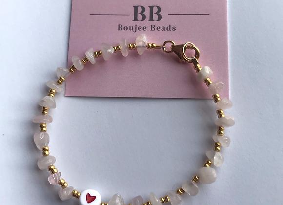 Valentines Crystal Bracelet