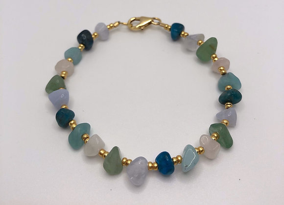 Multi-coloured Crystal Bracelet