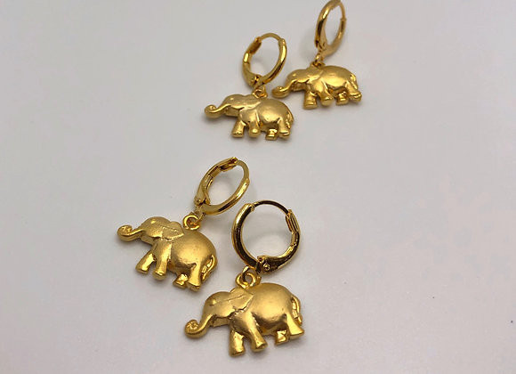 Gold Elephant Huggies