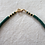 Thumbnail: Dark Green Sundial Necklace