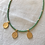 Thumbnail: Gold hammered coins - Green