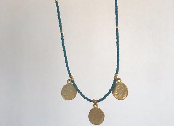 Gold hammered coins - Blue