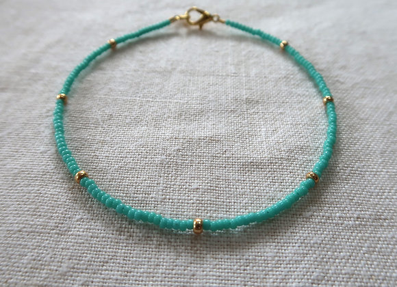 Turquoise - Gold Filled