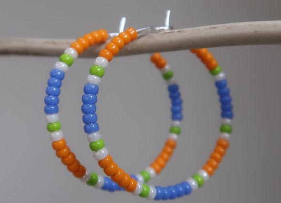 Neon Orange/Blue/Lime
