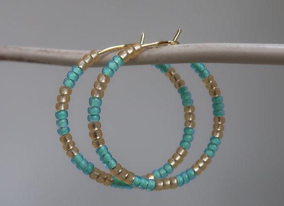 Gold & Turquoise (Medium)