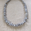 Thumbnail: Blue Lace Agate Crystal Necklace