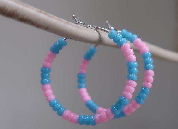 Bubblegum (Small Hoop)