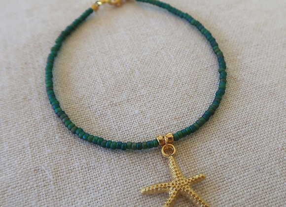 Emerald Green Starfish