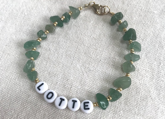 Personalised Green Aventurine