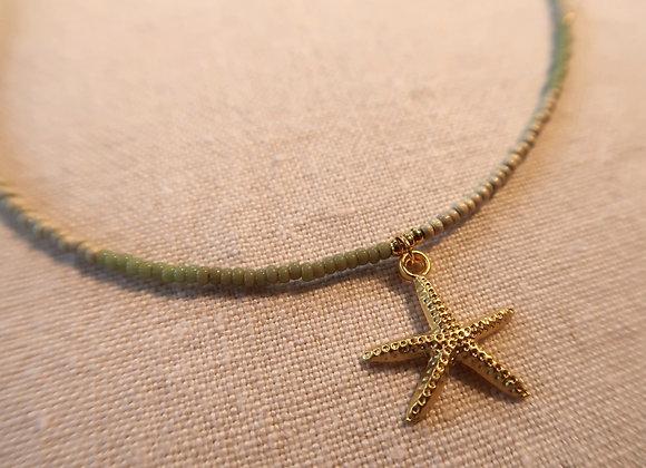 Gold Starfish - Khaki