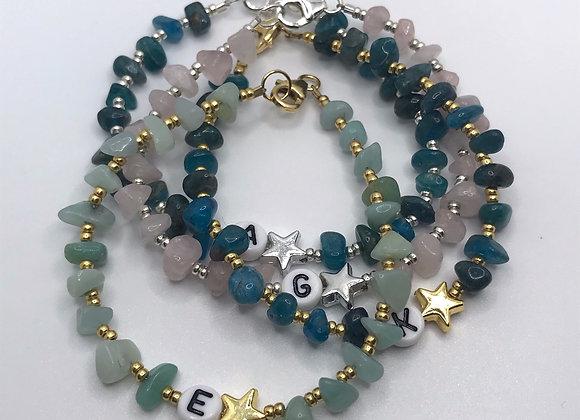 Alphabet Crystal Bracelet