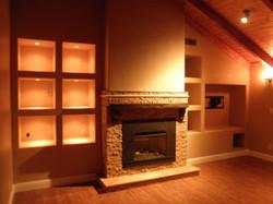 Basement & Fireplace