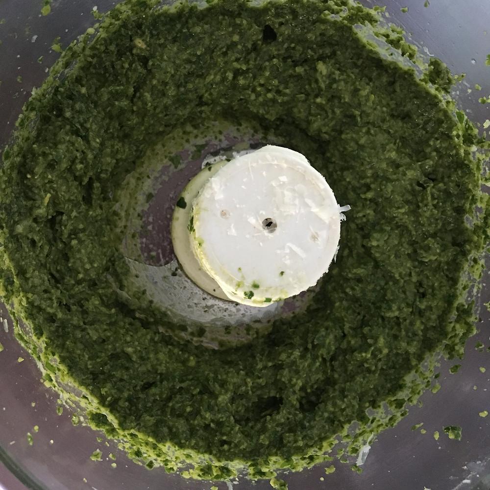 Blender Pesto