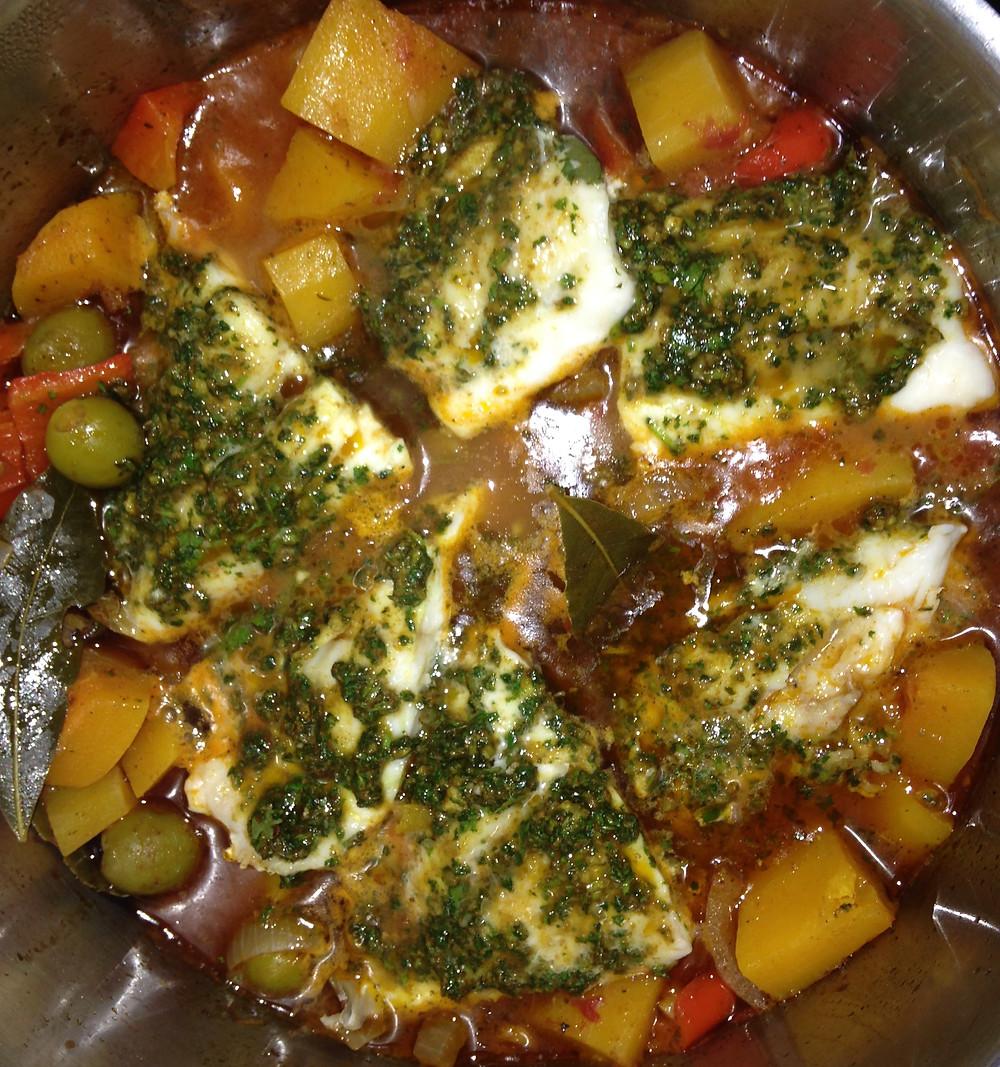 Fish Tagine Recipe