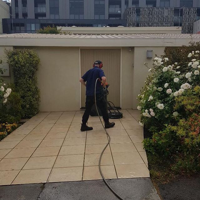Craig and Charlie went to clean the roof