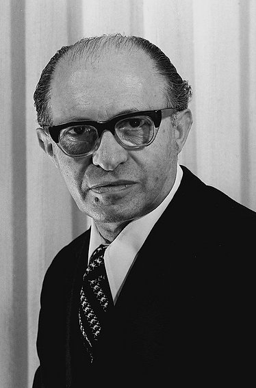 Menachem Begin, the sixth prime minister of Israel, who served Israel from 1977-1983.