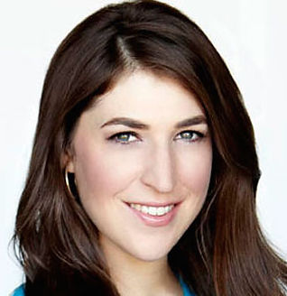 Co-narrator Mayim Bialik, Emmy-nominated television actress best known for her role in Blossom