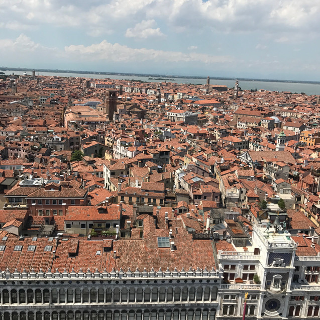 View from the top of Campanile