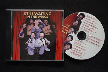 Still waiting In The Wings - CD and case