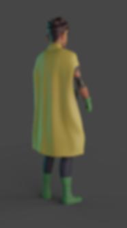 Robin back cap