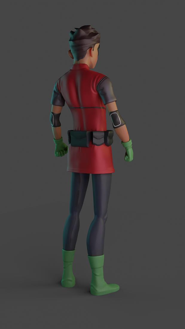 Robin back