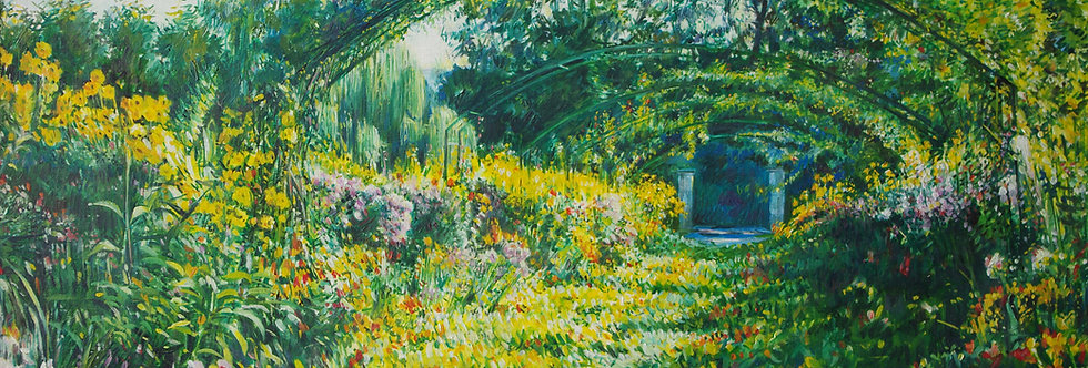"GIVERNY "" Le jardin de Monet"""