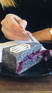 Maková torta bez lepku, bezlepková maková torta, maková torta
