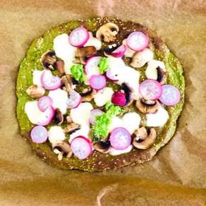 Brokolicová pizza (paleo, protizápalová strava)