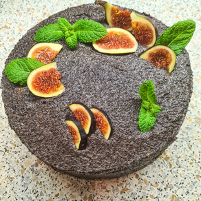Maková torta pre priateľov (bez lepku a rafinovaného cukru)