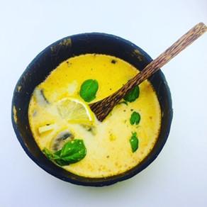 Skvelá kokosovo - hydinová polievka (paleo, protizápalová strava)