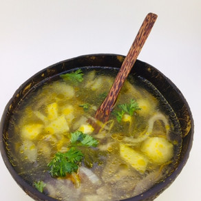 Zdravá hlivová polievka
