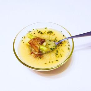 Krémová špargľová polievka (recept)