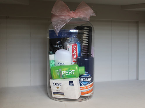 Men's Toiletry Jar