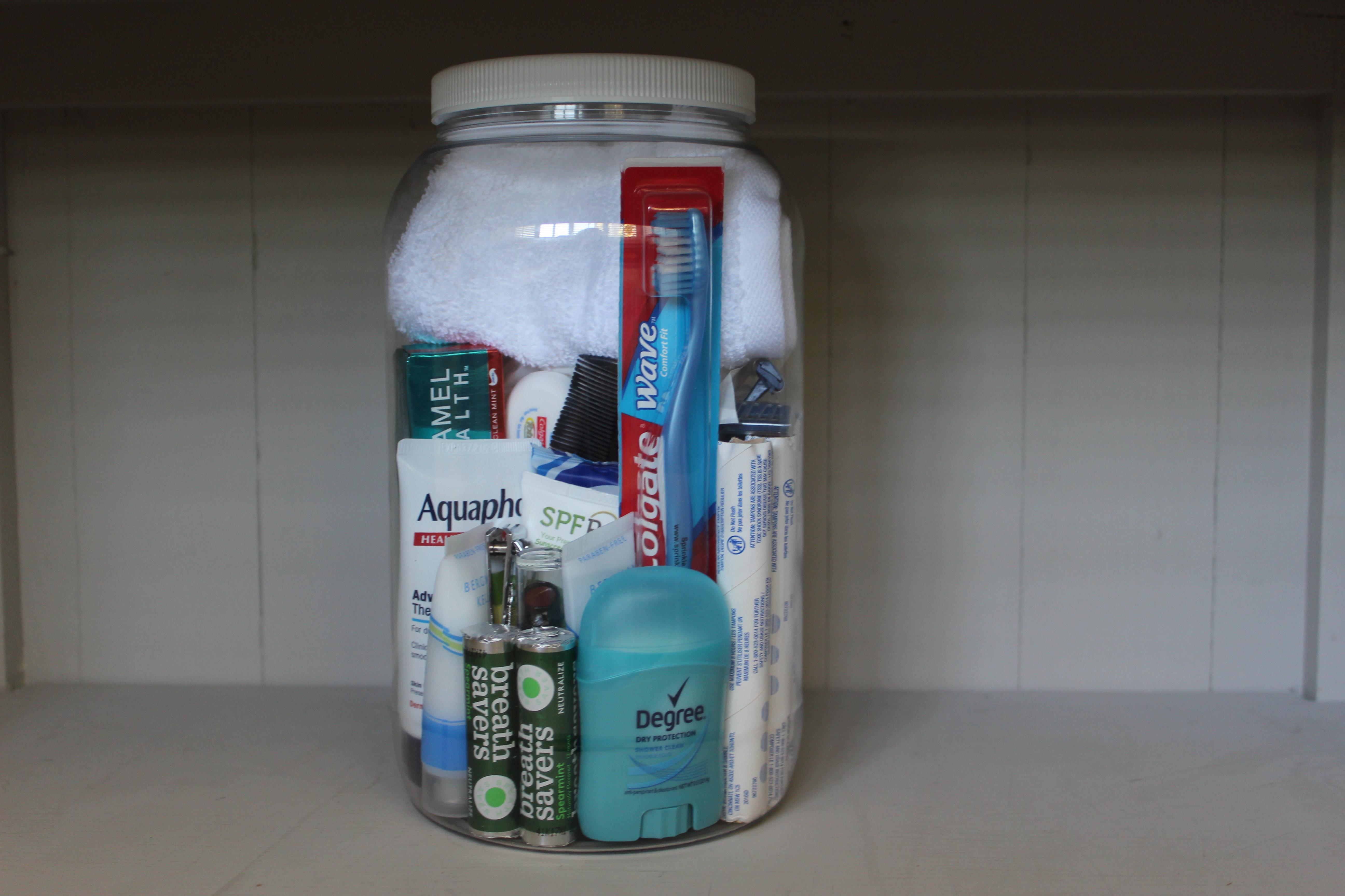Women's Toiletry Jar