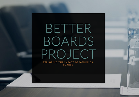 Exploring the impact of women on boards