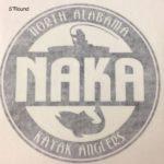 """NAKA 5"""" Round Decal"""