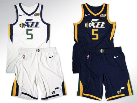 hot sale online f2719 a8697 Denver Nuggets and Utah Jazz Release New Uniforms