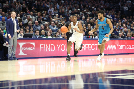 Tandy Shines, Musketeers Beat Hoyas 66-57