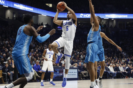At Large Bid Podcast: Xavier's Win Over Georgetown, Big East Talent + Is Duke or Michigan the #1