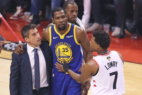 48 Minutes Podcast: Kevin Durant's Devastating Injury, Game 6 Preview + AD Trade Rumors Heat Up