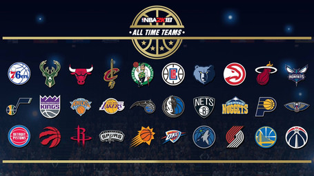 48 Minutes Games: 2K Sports Announces All-Time Teams for NBA 2K18