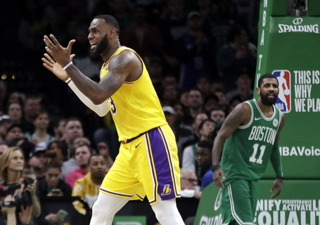48 Minutes Podcast: LeBron's Lakers and Kyrie's Celtics are Struggling